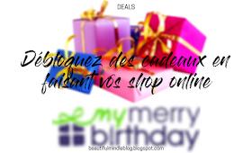 mymerrybirthday birthdaygifts cadeaux d'anniversaire shopping en ligne système des points, récompense, cadeaux partenaires, parrainage achats en ligne shopping inline eshops