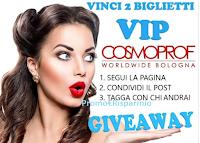 Logo Vinci gratis i biglietti Cosmoprof Worldwide Bologna