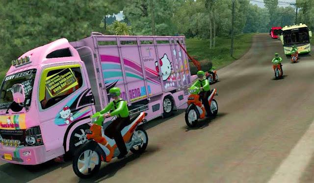 Mod Traffic Ojek Online Euro Truck Simulator 2