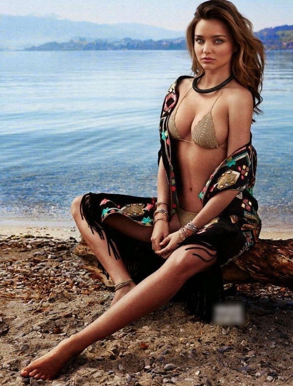Miranda The United States Recalled Freaky Curve Charming Beach Topless