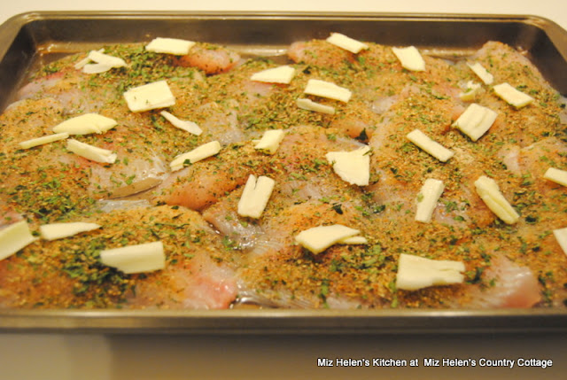 Sheet Pan Herbed Tilapia at Miz Helen's Country Cottage