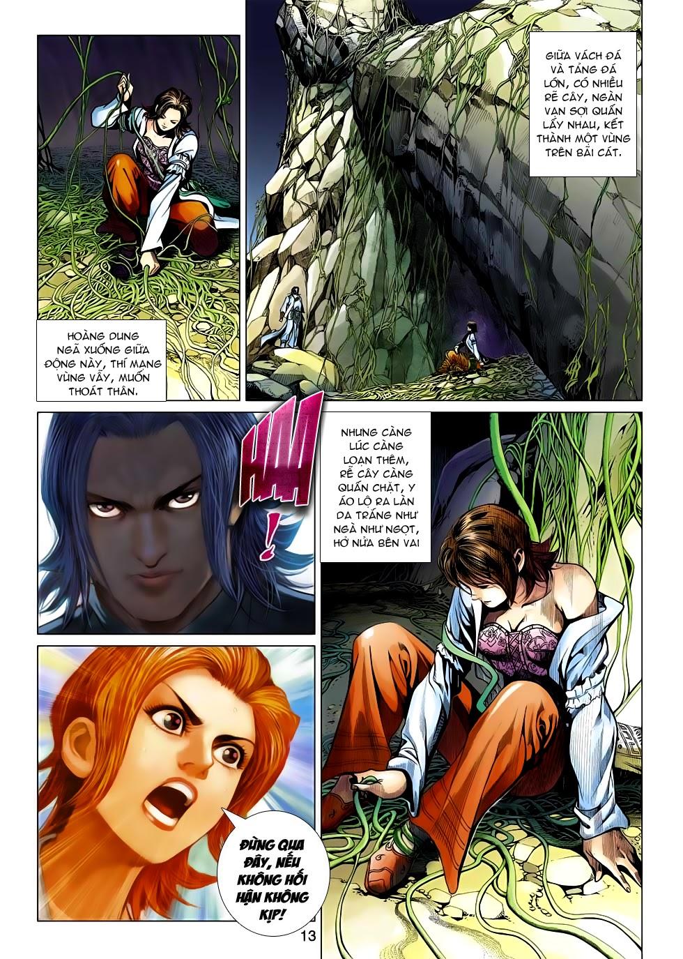 Anh Hùng Xạ Điêu anh hùng xạ đêu chap 54: kiếp hậu dư sinh thiến nữ kỳ mưu trang 13
