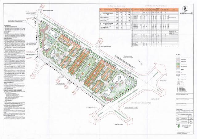 Bản đồ quy hoạch toàn khu dự án FLC Premier Park