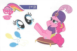 My Little Pony Tattoo Card 1 Series 3 Trading Card