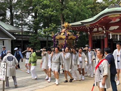 八坂神社神輿発輿祭(平成30年7月14日)