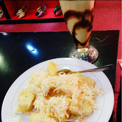 Gambar Resep Singkong Keju Susu Lezat