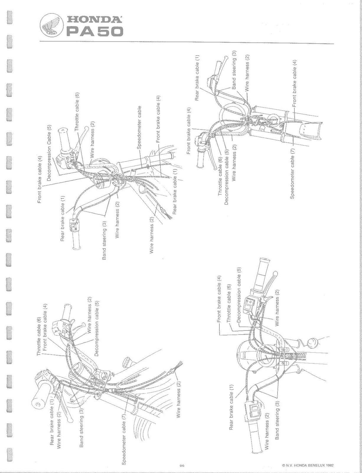 ob1 repairs honda pa50 service manual