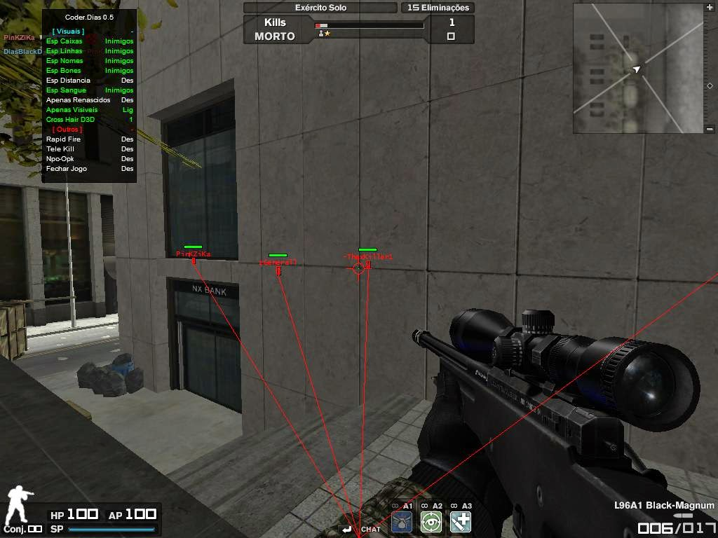 4w8Aech Combat Arms Hile Coder Dias v0.5 Wallhack Oyun Botu indir