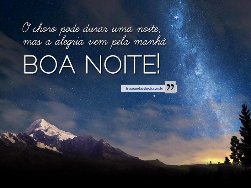 Mensagens Para Facebook: Frases De Boa Noite Msg