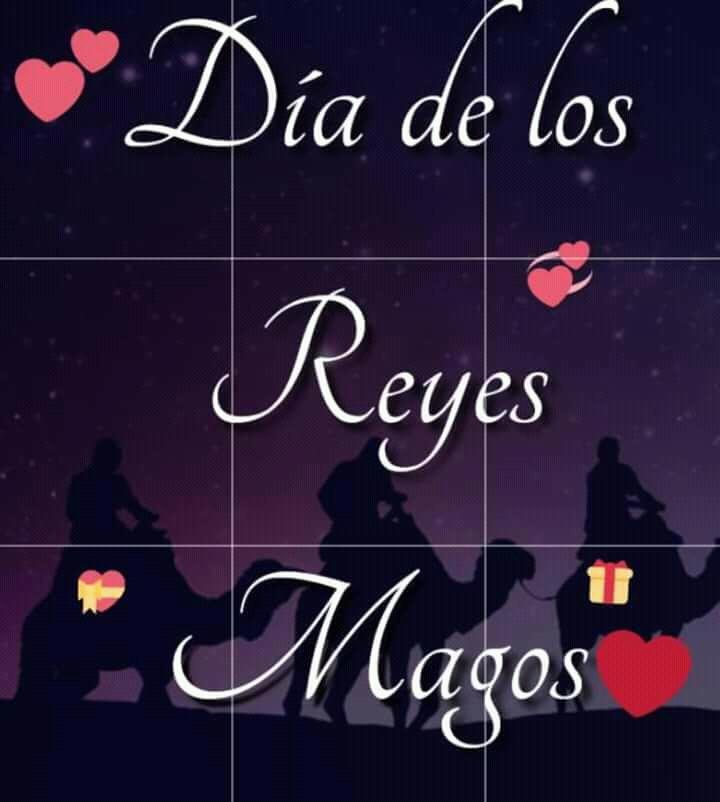 Detumenteamimente Feliz Día Reyes Magos Mi Amour