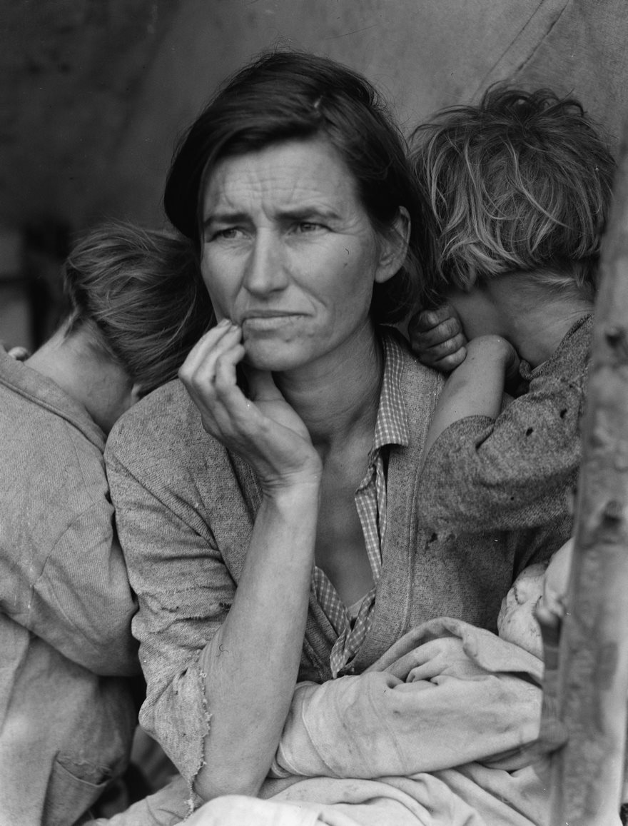 Migrant Mother, Dorothea Lange, 1936
