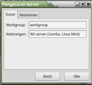 TUTORIAL CARA SHARING DATA ANTARA WINDOWS 7 DENGAN LINUX MINT