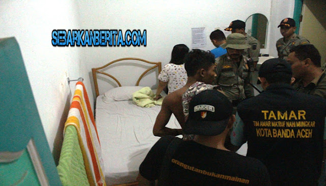 Hotel Kartini Banda Aceh Digerebek, Empat Pasangan Muda Berhasil Diamankan