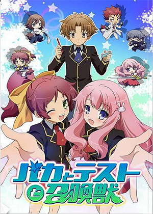 Baka to Test to Shoukanjuu [13/13] [HD] [MEGA]