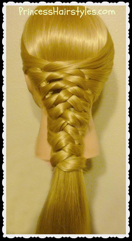 Zig Zag Woven Braid Tutorial - Hairstyles For Girls ...