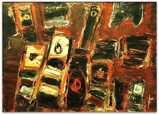Iberê Camargo - Sem Título (1970) - óleo sobre tela