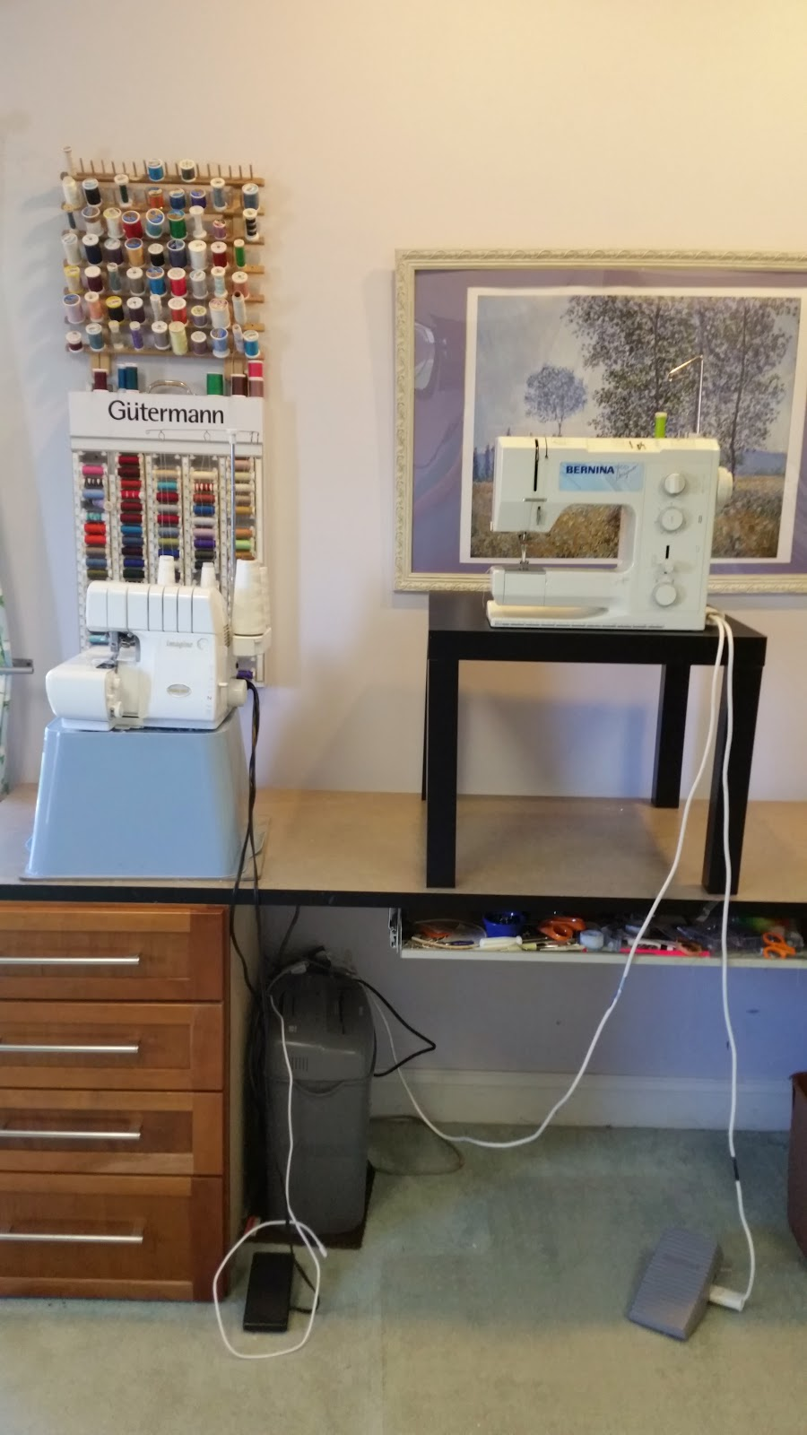 Standing Sewing Station Sewbaby News