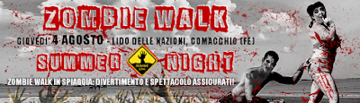 Zombie Walk Summer Night
