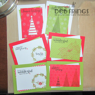 Season's Greetings set - photo by Deborah Frings - Deborah's Gems
