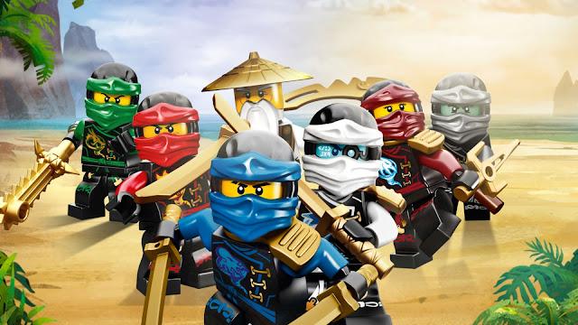 Lego NinjaGo Sessão Azul