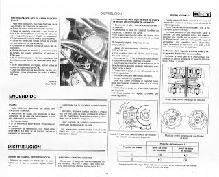 SUZUKI GS 500: Manual de taller