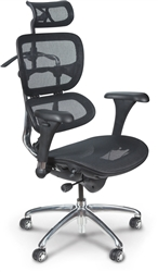MooreCo Butterfly Mesh Back Office Chair