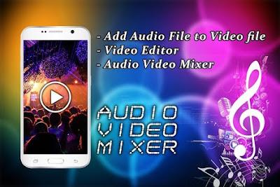 cara menggabungkan video dengan audio di Android