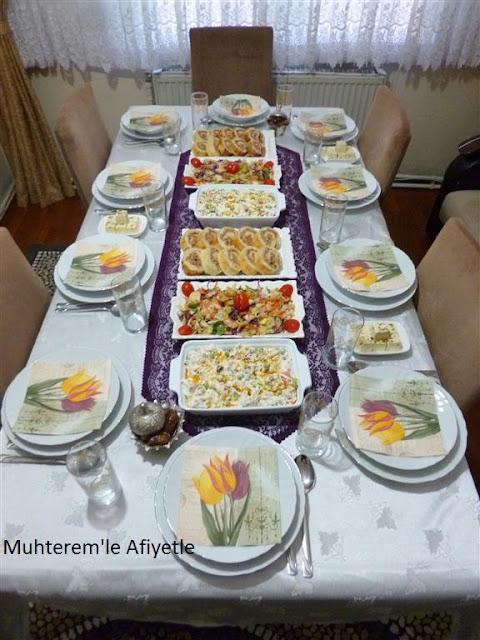 iftar yemeği için tarifler
