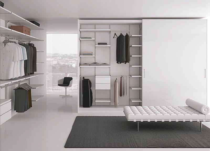 50 Desain Lemari Pakaian Minimalis - Dekorasi Rumah Minimalist