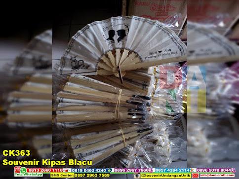 jual Souvenir Kipas Blacu