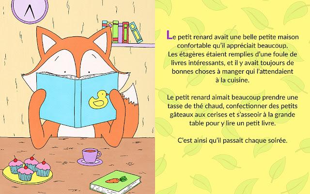 Le petit renard - Livres pour enfants