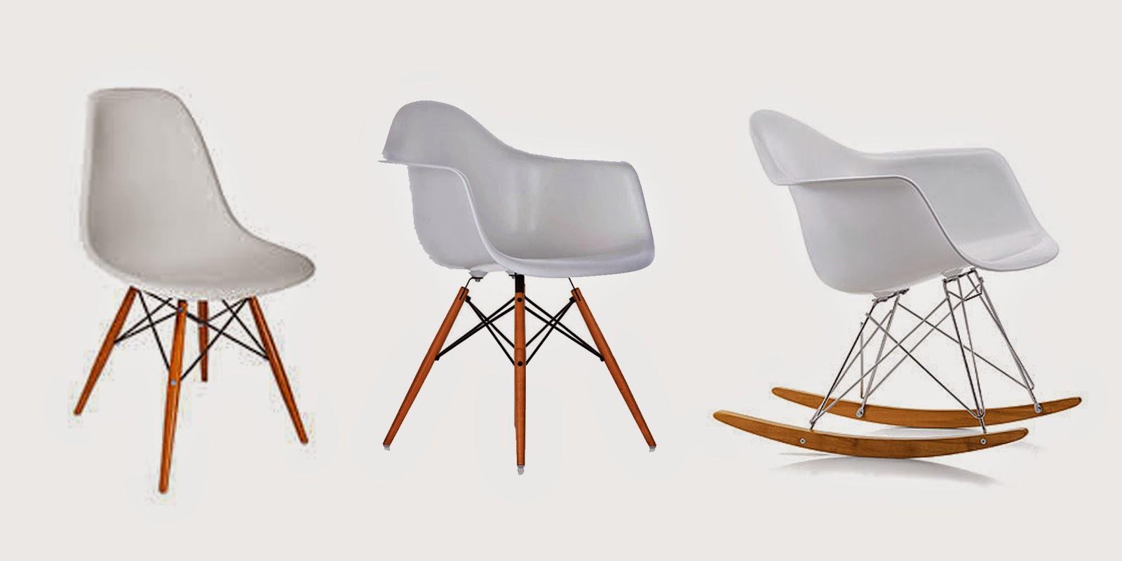 Journal photographique: Chaises Eames