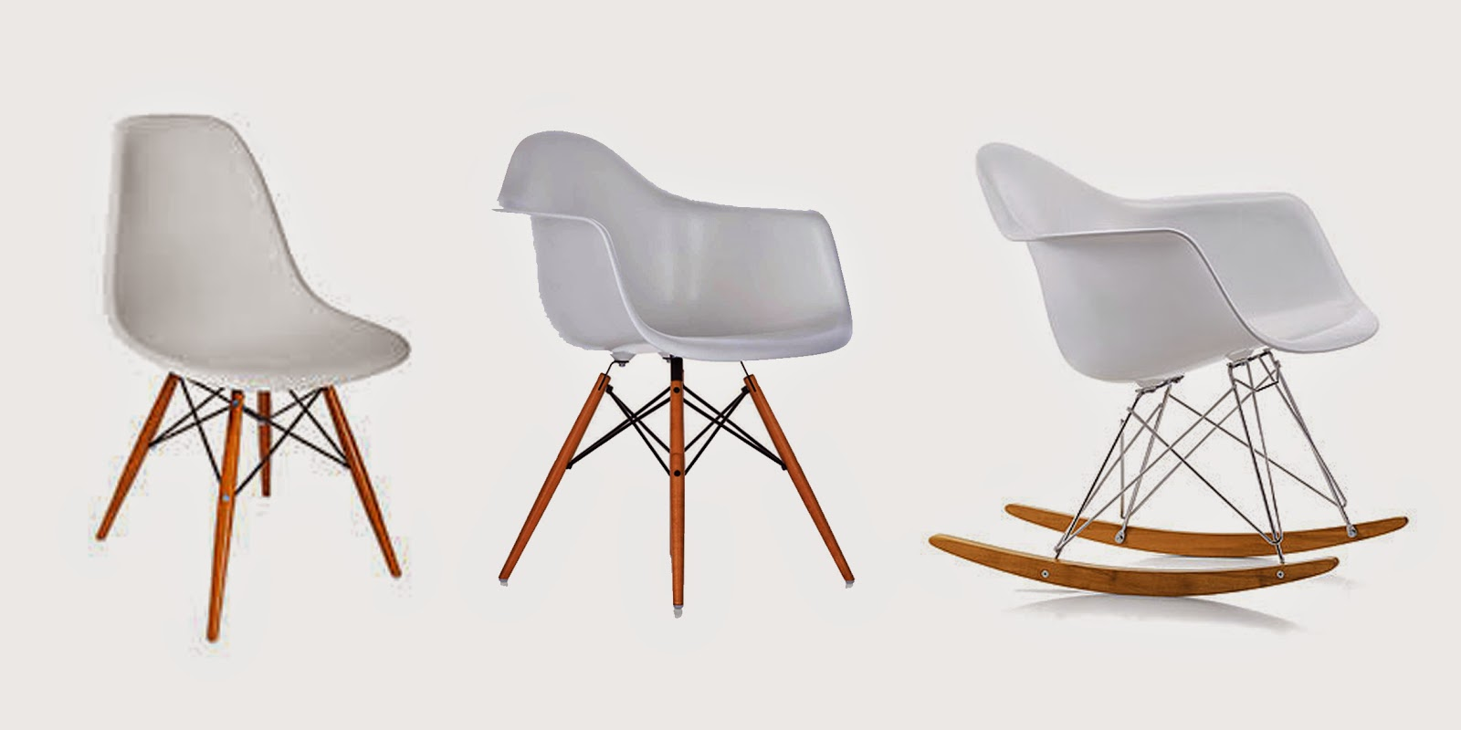 three ways of using eames la chaise chair and table 2