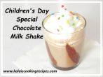 cocoa milkshake