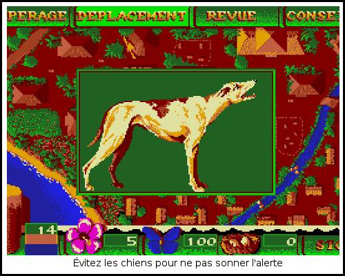 [TEST]ROM - Les Guerriers de l'ombre - Atari St/Amiga Freedom6