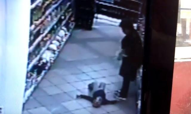 Женщина избила ребёнка в уфимском супермаркете: Видео