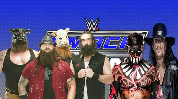 The scary Wyatts and the Demon Finn Balor possibly teaming up with The Undertaker