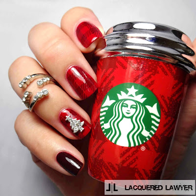 Perfectly Plaid Nails