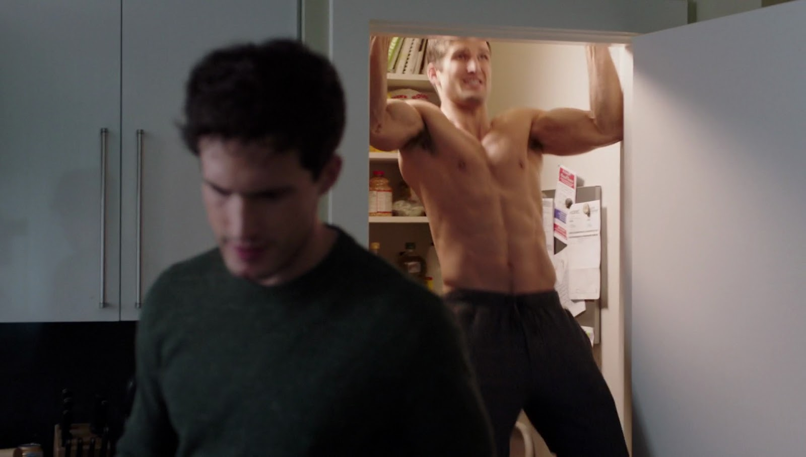 shirtless men on the blog parker young shirtless