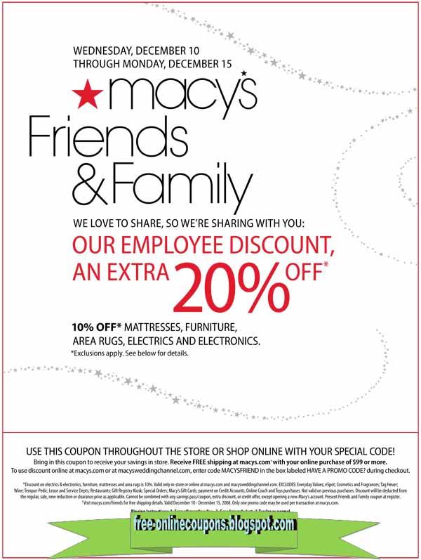 Macys coupon printable 2018 november