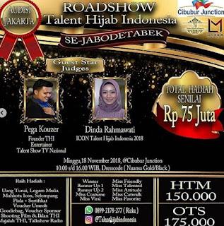 cara mendaftar roadshow talent hijab indonesia jabodetabek 2018