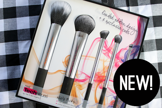 Beauty // New Real Techniques 'Nic's Picks' Limited Edition Brushes
