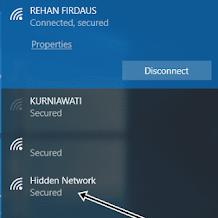 Cara Menambahkan Perangkat ke Jaringan Wi-Fi yang Ter-Hidden / Tersembunyi