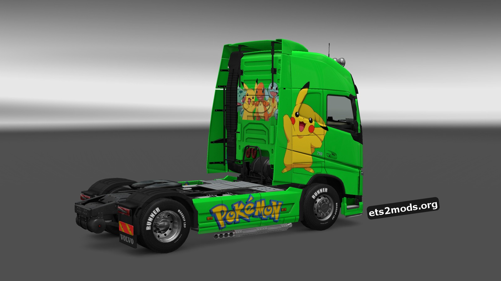 Pokemon Skin for Volvo 2012