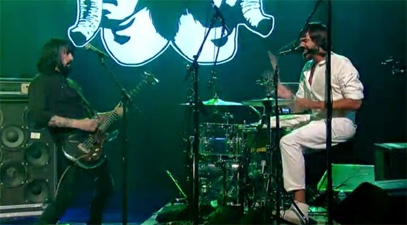 "Death From Above 1979 : ""Trainwreck 1979"" on Letterman and ""Turn It Out"" at FYF"