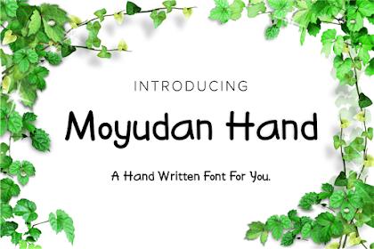 MOYUDAN HAND WRITTEN FONT