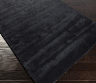Dark color bamboo silk rug manufactured as per your custom sizes