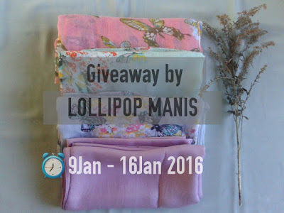 Shawl Giveaway by Lollipop Manis
