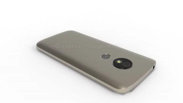 Muncul Render 3D Ponsel Moto E5 dengan Beberapa Perubahan Desain