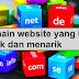 Nama domain website yang bagus adalah unik dan menarik